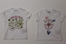 Two True Religion Toddler T-Shirt. Size 12-18 M.