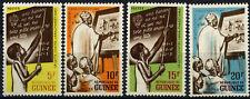 Guinea 1962 SG#332-5 Campaign Against Illiteracy MNH Set #D58793