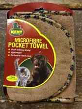 Microfibre Pet Pocket Towel for easy drying 80 x 20cm 3139 Brown in colour