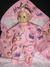 Princess Castle Sleeper Doll Clothes Handmade to Fit American Girl Bitty Baby