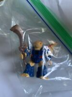 Vintage 80's Hasbro Takara Battle Beasts Squire Squirrel RARE Complete W Rub