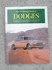 The Hemmings Book of Dodges Drive Reports from Special Interest Autos magazine