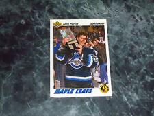 felix potvin(toronto maple leafs-goalie)1991/92 upper deck ROOKIE card #460 mint