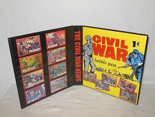 Custom Made The Civil War News Trading Card Album Binder