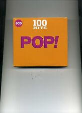 100 HITS - POP! - PALOMA FAITH JAMES ARTHUR JOHN LEGEND BROS LULU - 5 CDS - NEW!