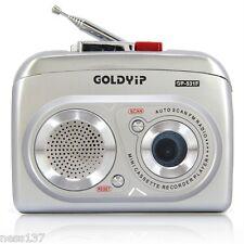 Radio FM Lecteur Enregistreur Pour Cassettes Audio a Piles + 1 Cassette Offerte
