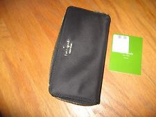 Kate Spade fairmount square lacey black zip around Wallet $178