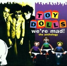 TOY DOLLS - WE'RE MAD/ANTHOLOGY 2 CD NEU