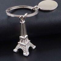 Metal Eiffel Tower Gift Retro Classic Keyfob Key Holder Keychain Keyring