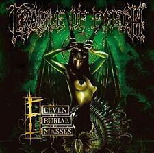 CRADLE OF FILTH - ELEVEN BURIAL MASSES (2 LP) NEW CD