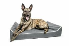 Titan Dog Bed- Chew Resistant, Memory Foam, Washable Cover, Waterproof Liner