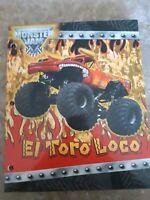 Monster Jam El Toro Loco Truck 2 Pocket 3 Hole Punch USHRA 2011 School Supplies