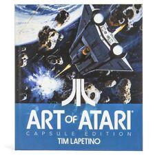 New Loot Crate DX Exclusive Art Of Atari Capsule Edition Hardcover Tim Lapetino