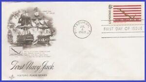 USA4 #1354 U/A ARTCRAFT FDC   1st Navy Jack