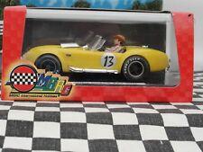 MRRC Shelby Cobra Ford 427 S/C 'Negro 13' Amarillo #13 MC9921 1:32 Ranura Nuevo Y En Caja LE