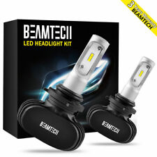 9006 LED Headlight Bulbs PHILIPS CSP Lights Kit Low Beam 8000LM 6000K High Power