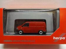 Herpa 028721 VW T6 Bus kirschrot Kombi Van rot 1:87 Neu
