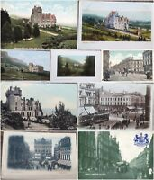 Northern Ireland Belfast Castle & Juction Vintage Postcard Early 20th Century.