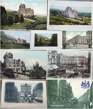 More details for northern ireland belfast castle and juction vintage postcard early 20th century.