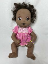 Baby Alive African American Brown Soft Face Interactive Doll 2006 Hasbro