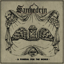 SANHEDRIN -  A Funeral for the World (LIM.350 BLACK V.*US METAL*I.MAIDEN*TROUBLE