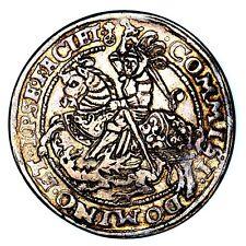 1596 GM Heinrich II Germany Eisleben Mint Silver Taler Thaler NGC AU53