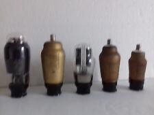 Lampes de radio Transcontinentales 4 Volt, neuves et occasion, testées.
