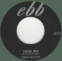 70's  ROCKABILLY REPRO: GENE WYATT - Lover Boy/Love Fever EBB (James Burton GTR)