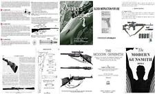 RELOADING WEAPON Manuals Collection Browning Sauer Glock HOWE MODERN GUN Smith