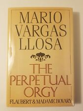 The Perpetual Orgy by Mario Vargas Llosa (Signed 1986 First Printing Hardcover)