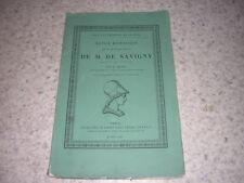1864.notice historique sur Frédéric-Charles de Savigny / Mignet.droit