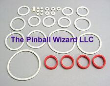 Black Knight 1980 Williams Pinball Machine White Rubber Ring Kit
