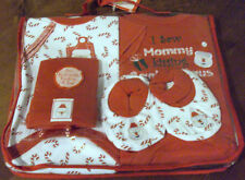 Baby Essentials Christmas Happy Holidays 100% Cotton 4 Piece Gift Set (0-6m) Nwt