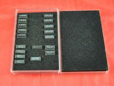 Lot Of 18 Dram Chips 16 Pin F USA MB81256-15  OKI M41256-15 MT 1257-12 NEC