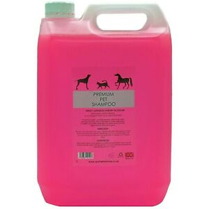 Pet grooming shampoo 5L/ 5litre concentrated 32 to 1 dilution uk made