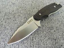 Petit CRKT NECK KNIFE avec g10 poignée et kydexscheide Capes-Couteau Outdoor