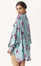 TIGERLILY La Paloma Floral Print Kimono Jacket Size M Medium