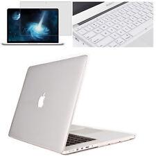 Keyboard Cover+Screen Protector+Hard Shell Case for Apple Macbook Mac Book Skin