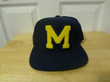 Michigan Wolverines Snapback Hat Cap Adidas NEW w/Sticker NWOT NCAA