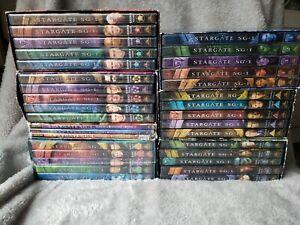 Stargate SG-1 Complete Series DVD Box Sets Seasons 1-7 Lot 1,2,3,4,5,6,7