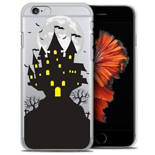 Coque Crystal Pour iPhone 6/6s (4.7) Extra Fine Rigide Halloween Castle Scream