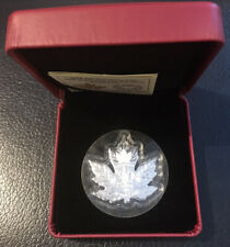 More details for 2018 canada 30th anniversary of the silver maple leaf fine silver $20