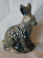 1988 Rowe Pottery Salt Glaze Rabbit