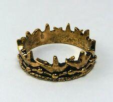 Game of Thrones Baratheon Crown RING Sz 10 replica (Daenerys Jon Snow Season 7)