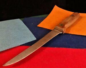 Vintage Herter's Fixed-blade Hunting/Fishing Knife  w/Sheath - WASECA MINN
