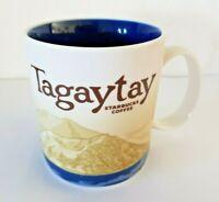 STARBUCKS TAGAYTAY Philippines 16 oz. ICONIC COFFEE MUG CUP 2011 FREE SHIPPING