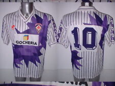 AC Fiorentina Lotto Adult XL Shirt Jersey Football Soccer Italy Vintage 10 1991