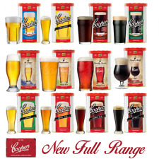 Coopers Beer Lager Making Kits Make Home Brew Refill Ingredients Kit Brewing NEW