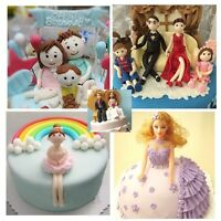3D Family People Body Figure Cake Mold Fondant Modelling Sugarcraft Decor