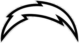 """San Diego Chargers NFL Decal """"Sticker"""" for Car or Truck or Laptop"""